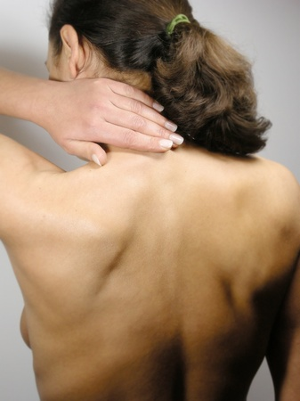 Neck pain Stock Photo - 11510184