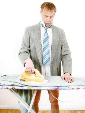 man 40 50: Ironing hours