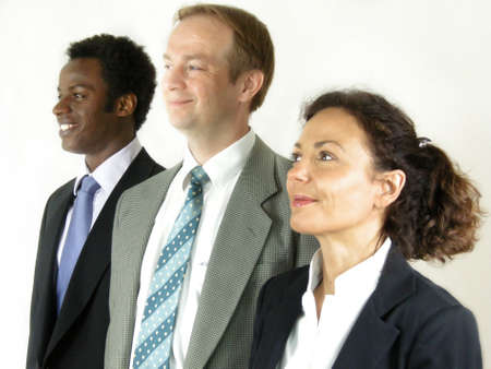 cohesiveness: A strong Team Stock Photo