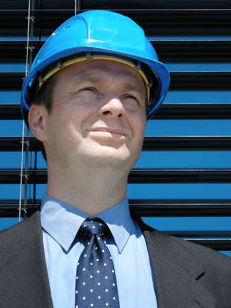 consciously: Site Manager Stock Photo