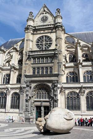 Saint Eustache Stock Photo - 11829019