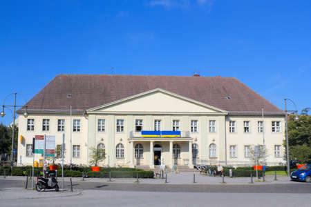 heritage protection: Old Post Office in Oranienburg