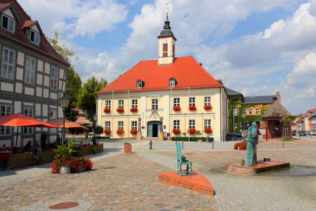 baudenkmal: Angermuende market place with town hall