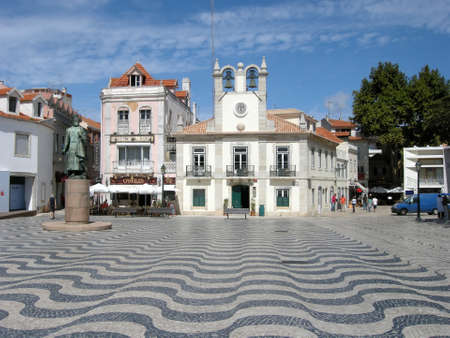 Town Hall Square in Cascais