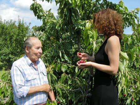 cohesiveness: Cherries share