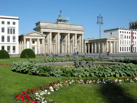 Brandenburg Gate Stock Photo - 11991558