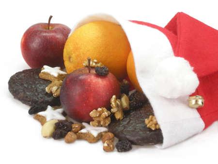 goodies: Christmas goodies Stock Photo