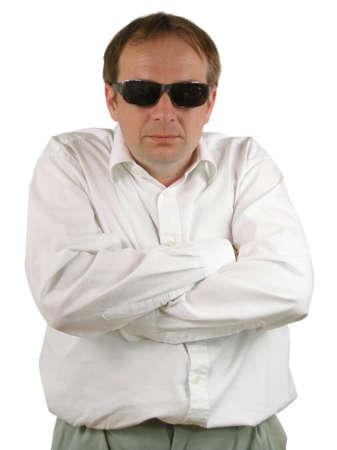 Man with sunglasses photo