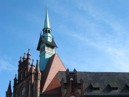 neo gothic: City Hall Berlin Lichtenberg