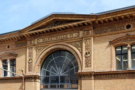 Historical market hall photo