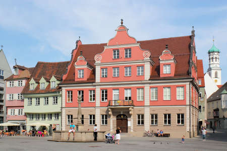 Marketplace in Memmingen photo