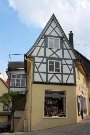 gabled house: Old gabled house