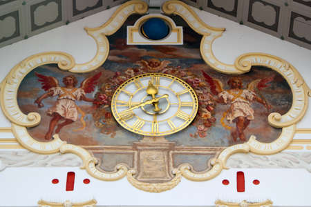 Astronomical Clock in Bad Tolz photo
