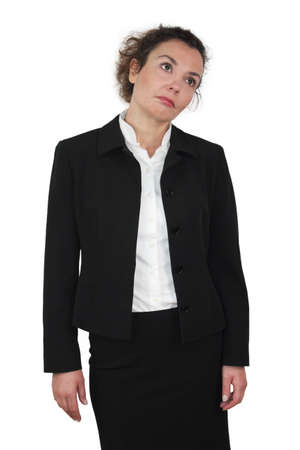 Businesswoman - type-oriented phlegmatics Stock Photo - 12066880
