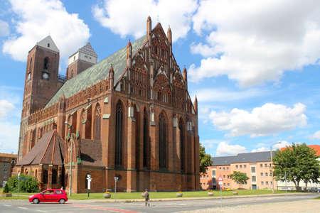 Mary`s Church in Prenzlau Stock Photo - 12385941