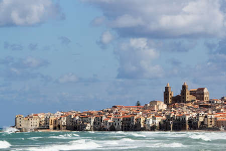 Panorama of Cefalu photo