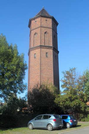 wody wieży: Water Tower in Luebbenau
