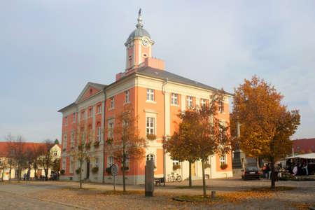 Town hall of Templin photo