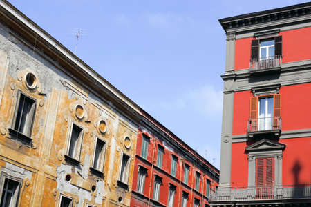 Facades in Naples photo