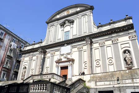 dormitories: San Paolo Maggiore Stock Photo
