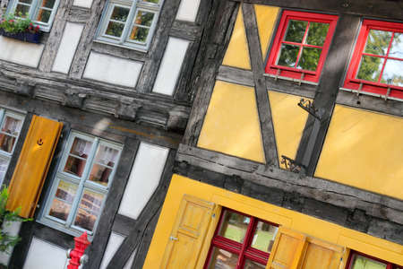 Half-timbered houses photo