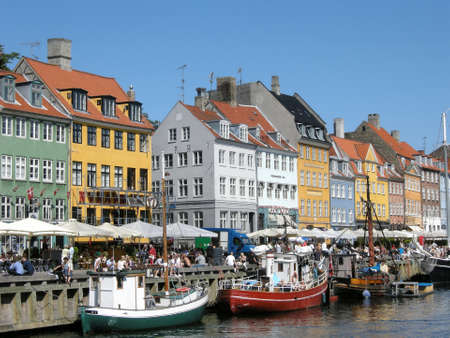 Nyhavn in Copenhagen Stock Photo - 12754267