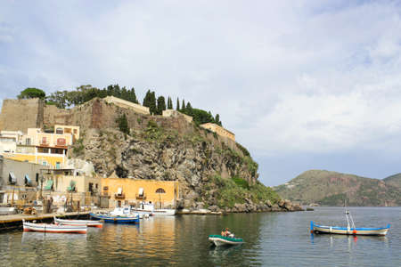 eolie: Volcanic island Lipari