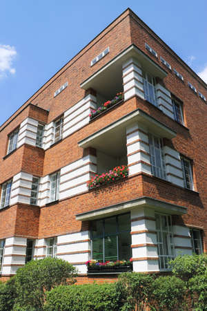 Bruno Taut House Stock Photo - 12754359