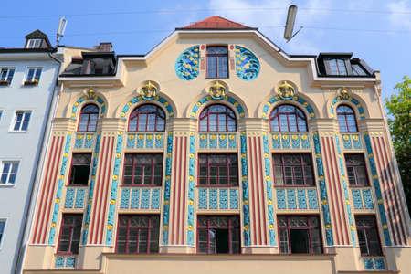 Munich art nouveau building