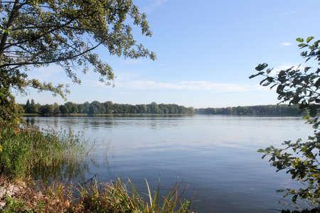 pond: Ruppin Lake Stock Photo