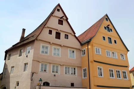 NORDLINGEN gabled houses Stock Photo - 12754269