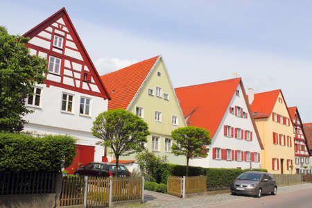 NORDLINGEN residential area Stock Photo - 12754381