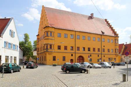 NORDLINGEN hall building Stock Photo - 12754365