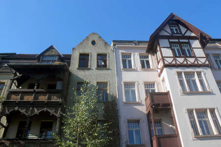 dormitories: old Houses