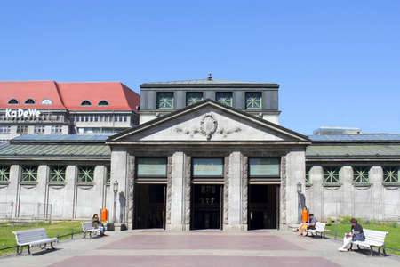 u bahn: Berlin Wittenberg Square