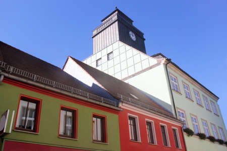 brandenburg home ownership: Row with the city hall