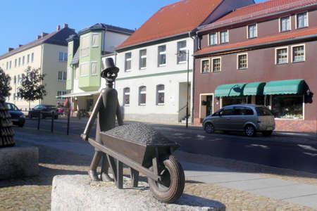 Sculpture in Spremberg Stock Photo - 12754284