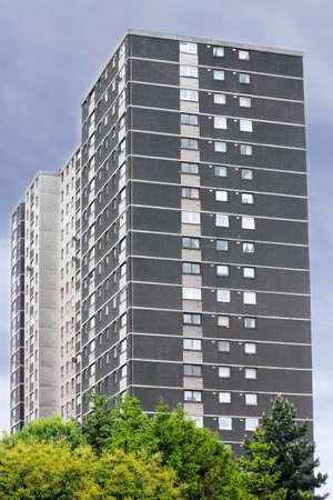 prefabricated buildings: Prefab en Glasgow