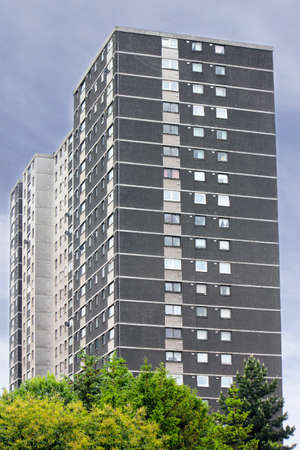prefabricated building: Prefab in Glasgow