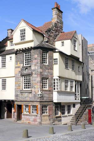 attics: John Knox House Editorial