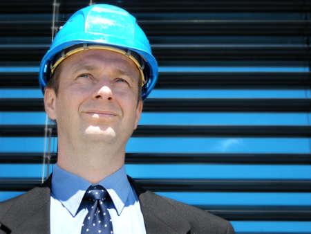 business skeptical: visi�n de futuro Foto de archivo