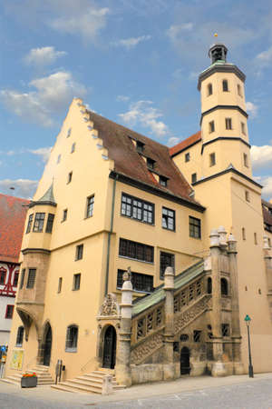 gable home renovation: Town Hall of Nordlingen Editorial