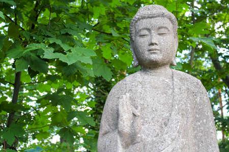 gartenanlage: Kannon, the goddess of mercy Stock Photo