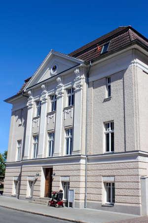 neustrelitz: lodge house Stock Photo