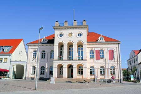 heritage protection: Neustrelitzer Hall