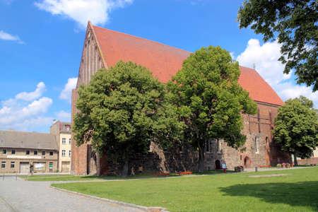 urban idyll: Peter and Paul church