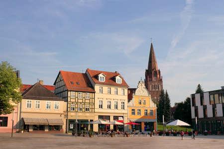town idyll: Eberswalde