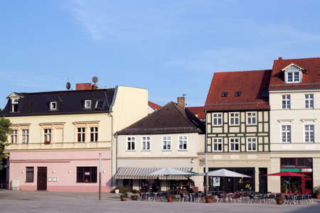 Old town of Eberswalde Stock Photo - 13103180