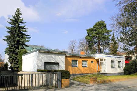 ccedil: Idyllic living in Grunewald Stock Photo