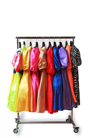 travesty: clothes rack